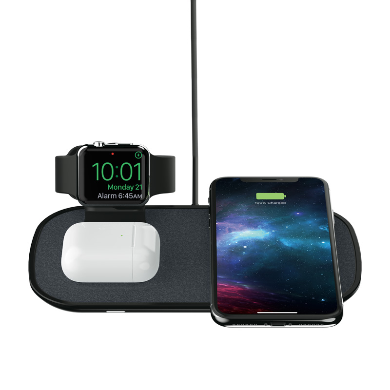 Mophie 3-in-1 Wireless Charge Pad, Produktbild